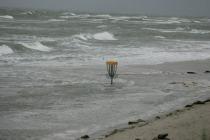 Korb im Meer